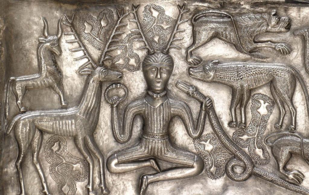 グンデストルップの大釜に描かれたケルヌンノス