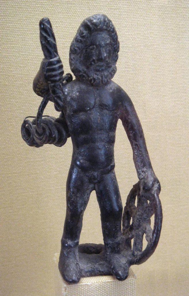 タラニスの神像