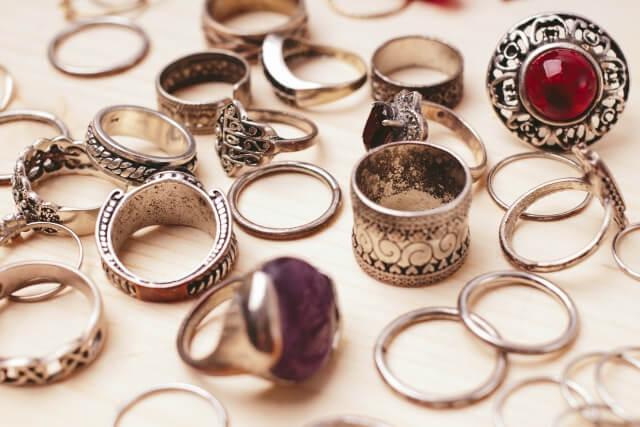 たくさんのリング